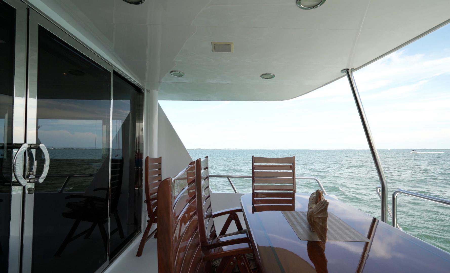 Hatteras-74 Sport Deck Motor  Yacht 1999-TRIX SEA Longboat Key-Florida-United States-1469597 | Thumbnail