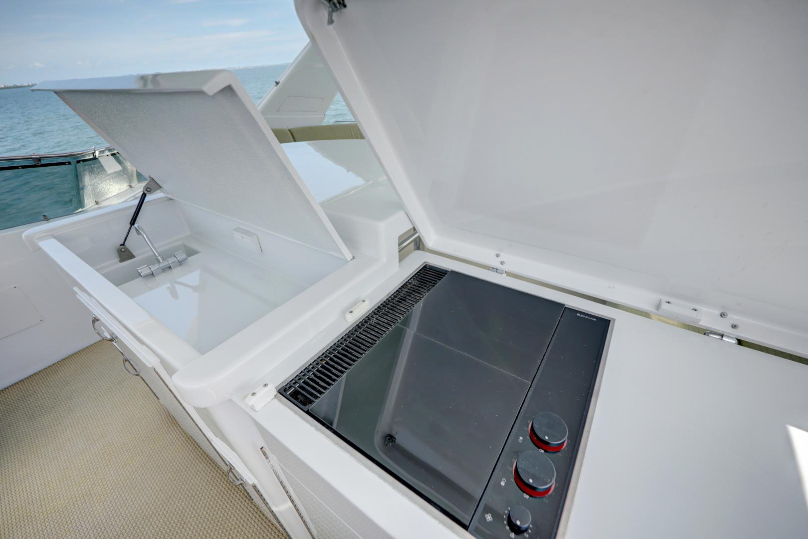 Hatteras-74 Sport Deck Motor  Yacht 1999-TRIX SEA Longboat Key-Florida-United States-1469590 | Thumbnail