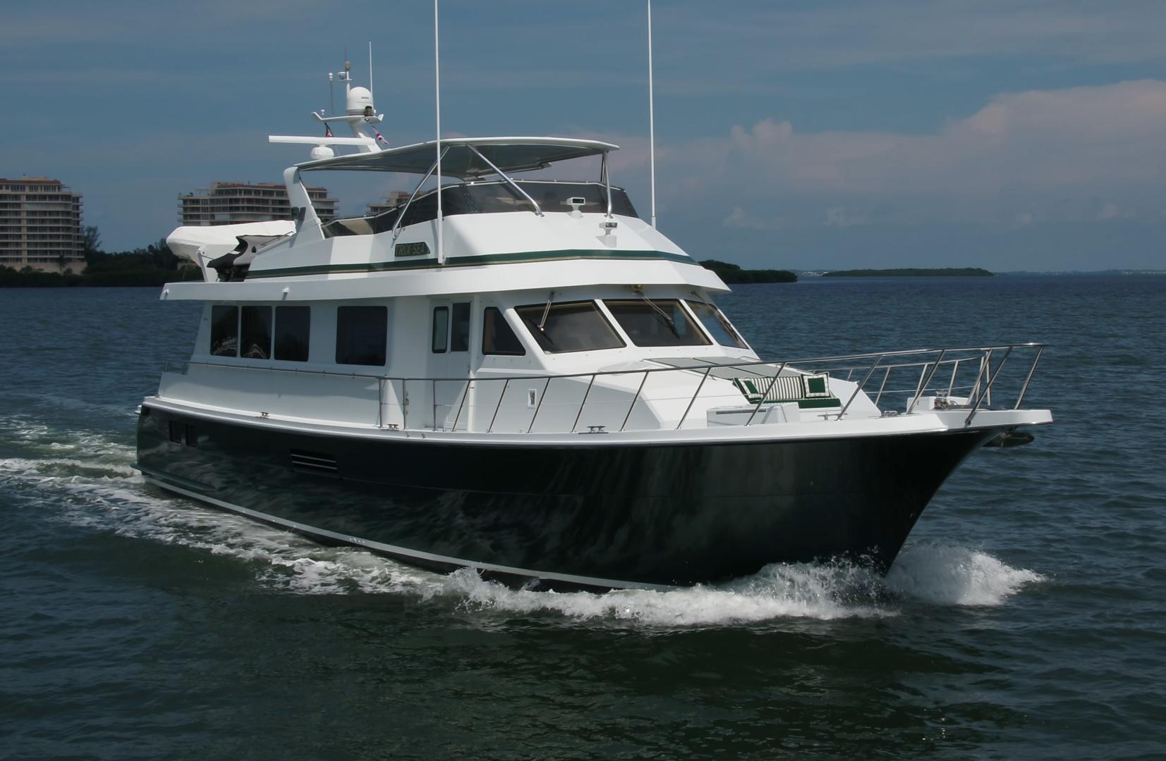 Hatteras-74 Sport Deck Motor  Yacht 1999-TRIX SEA Longboat Key-Florida-United States-1469515 | Thumbnail