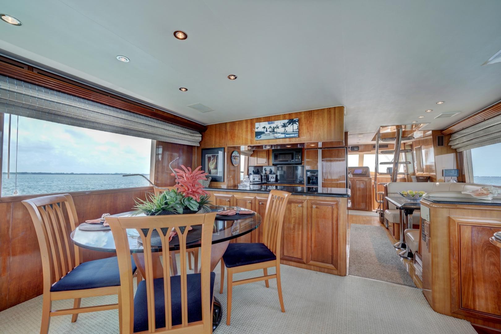 Hatteras-74 Sport Deck Motor  Yacht 1999-TRIX SEA Longboat Key-Florida-United States-1469562 | Thumbnail