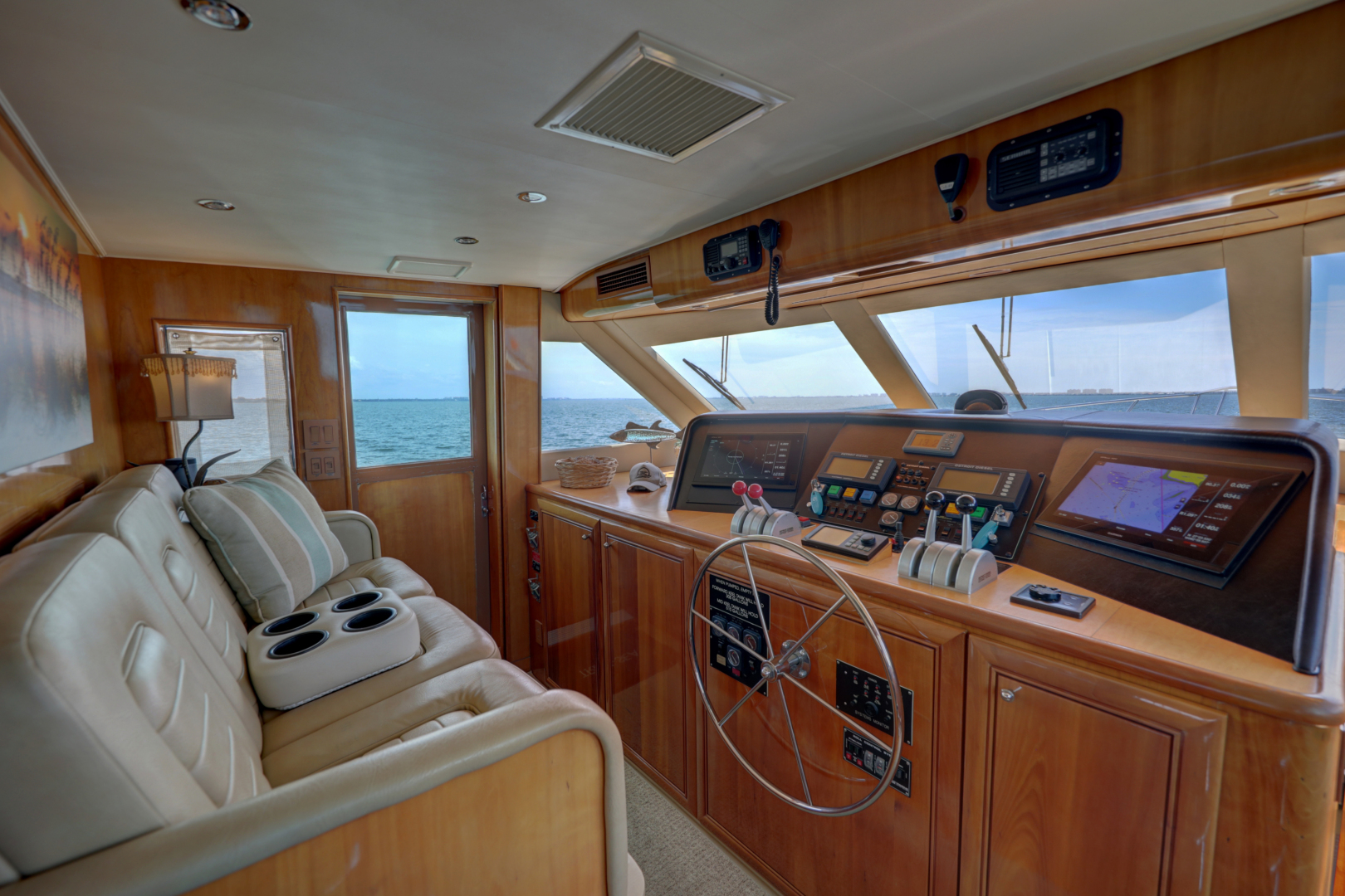 Hatteras-74 Sport Deck Motor  Yacht 1999-TRIX SEA Longboat Key-Florida-United States-1469573 | Thumbnail