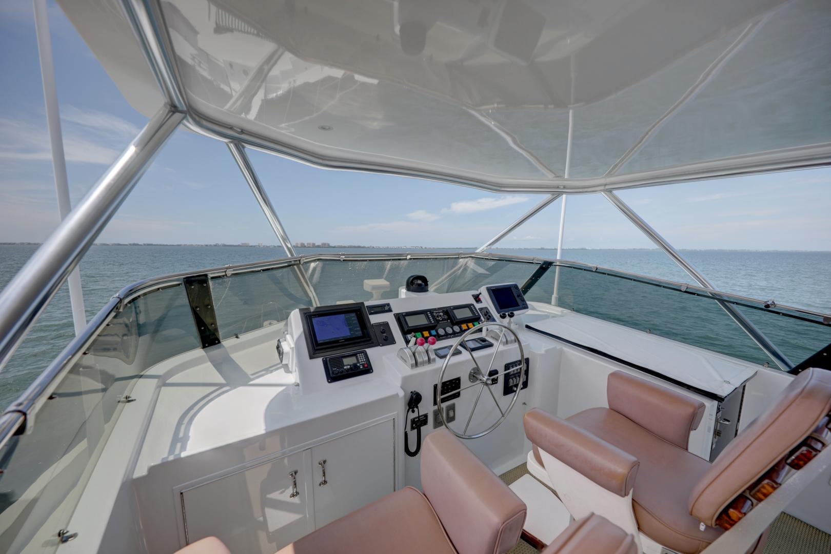 Hatteras-74 Sport Deck Motor  Yacht 1999-TRIX SEA Longboat Key-Florida-United States-1469588 | Thumbnail