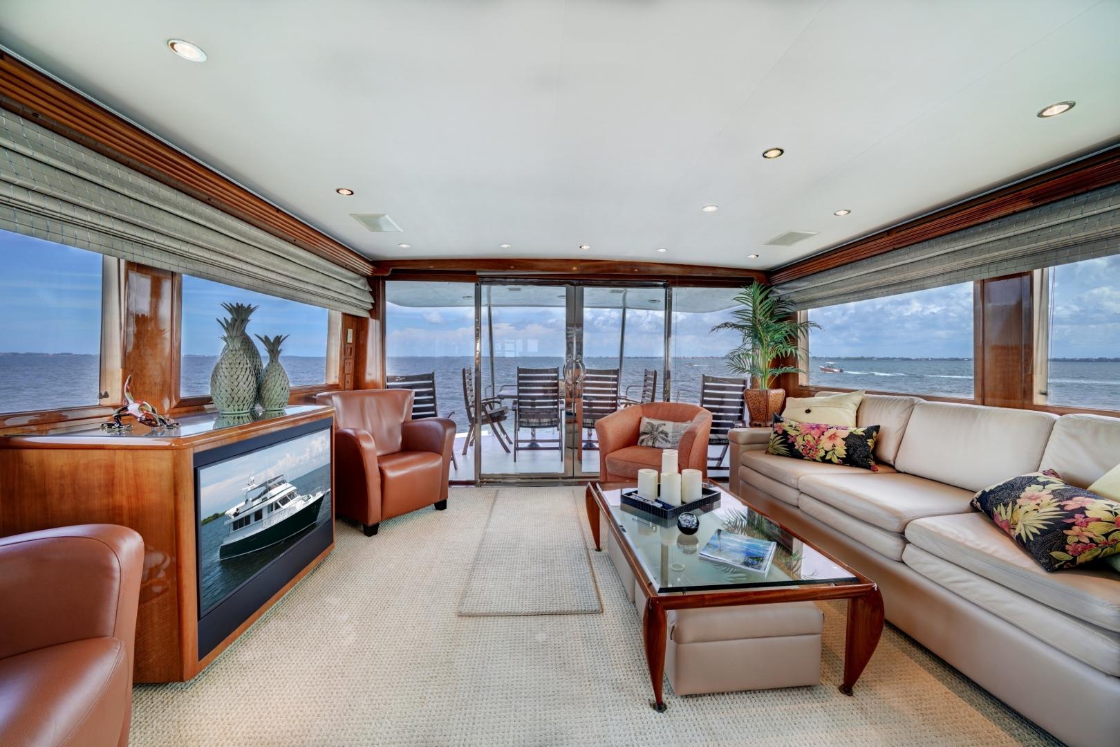 Hatteras-74 Sport Deck Motor  Yacht 1999-TRIX SEA Longboat Key-Florida-United States-1469560 | Thumbnail