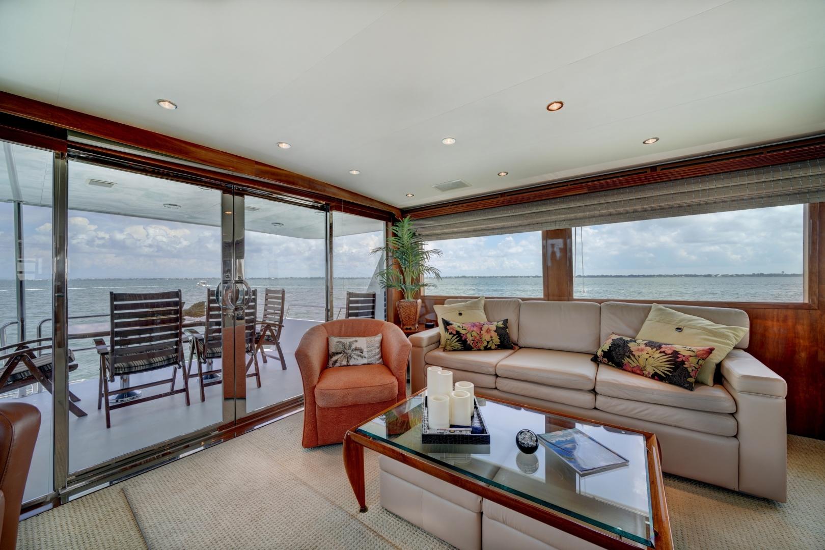 Hatteras-74 Sport Deck Motor  Yacht 1999-TRIX SEA Longboat Key-Florida-United States-1469561 | Thumbnail