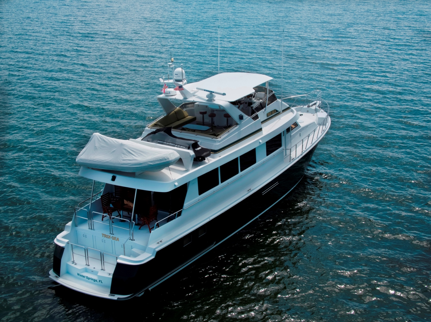 Hatteras-74 Sport Deck Motor  Yacht 1999-TRIX SEA Longboat Key-Florida-United States-1469551 | Thumbnail