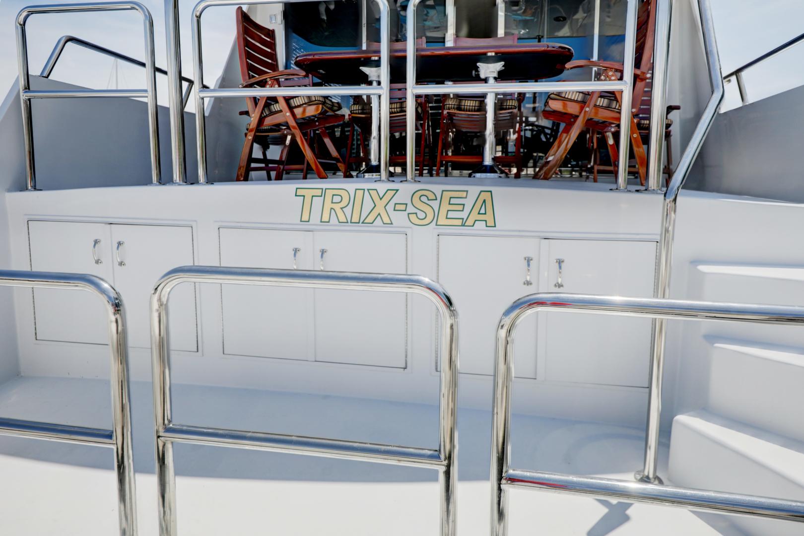 Hatteras-74 Sport Deck Motor  Yacht 1999-TRIX SEA Longboat Key-Florida-United States-1469598 | Thumbnail