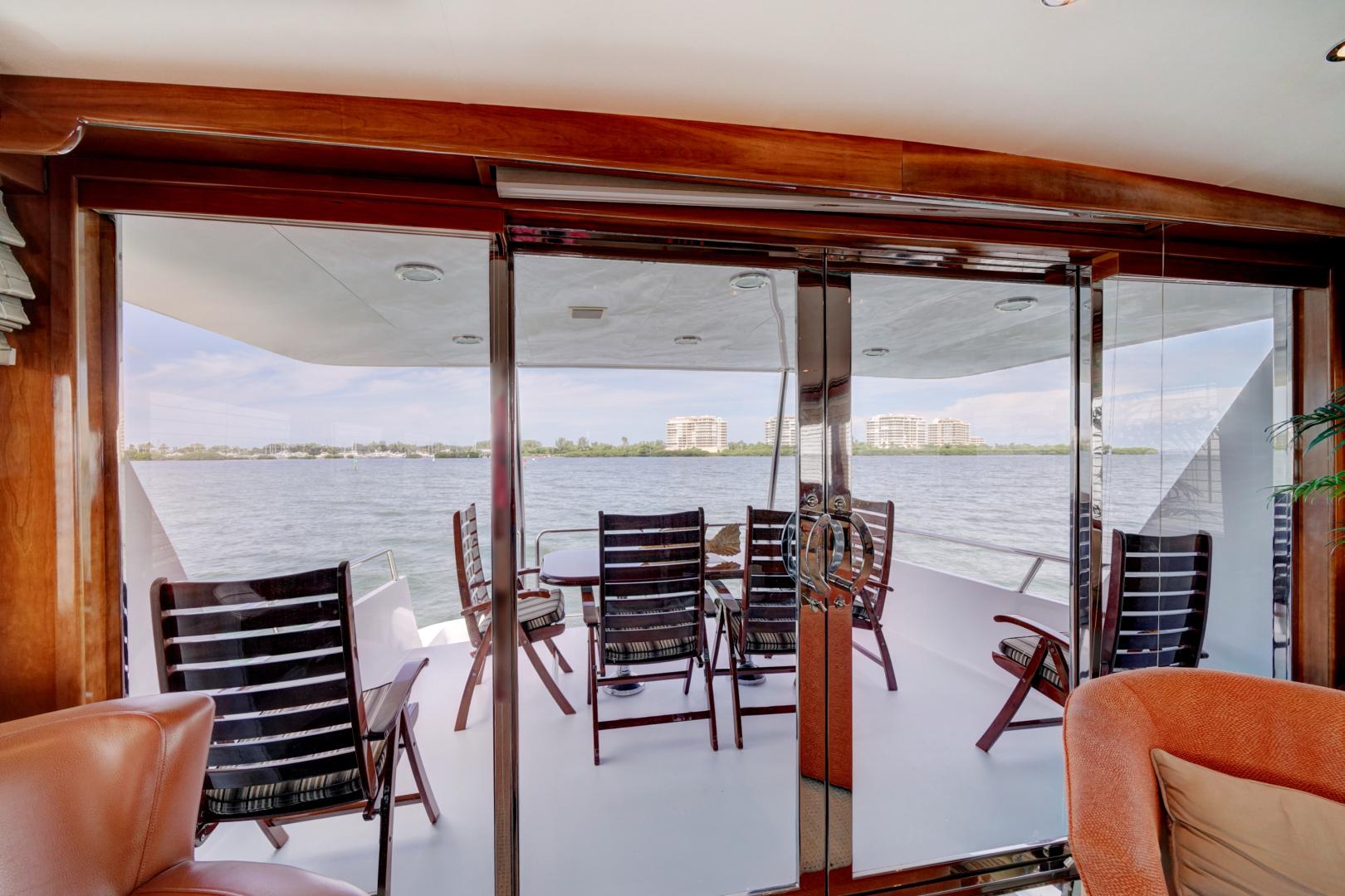 Hatteras-74 Sport Deck Motor  Yacht 1999-TRIX SEA Longboat Key-Florida-United States-1469595 | Thumbnail