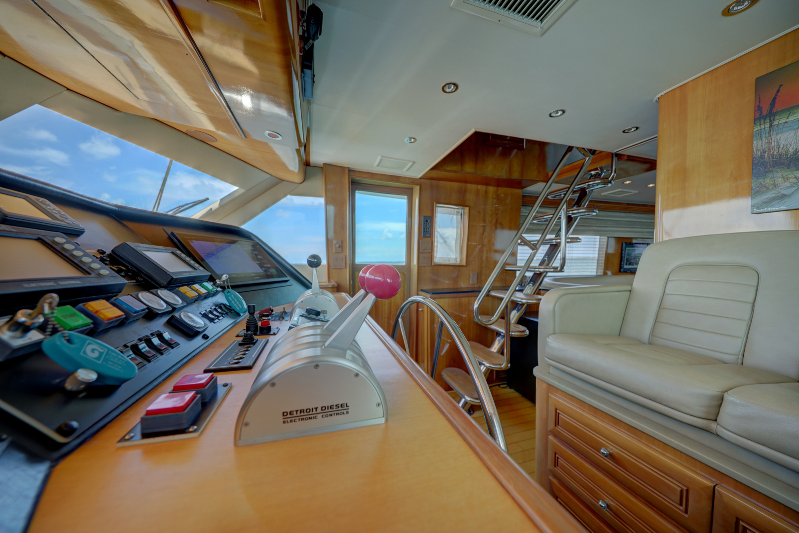 Hatteras-74 Sport Deck Motor  Yacht 1999-TRIX SEA Longboat Key-Florida-United States-1469575 | Thumbnail