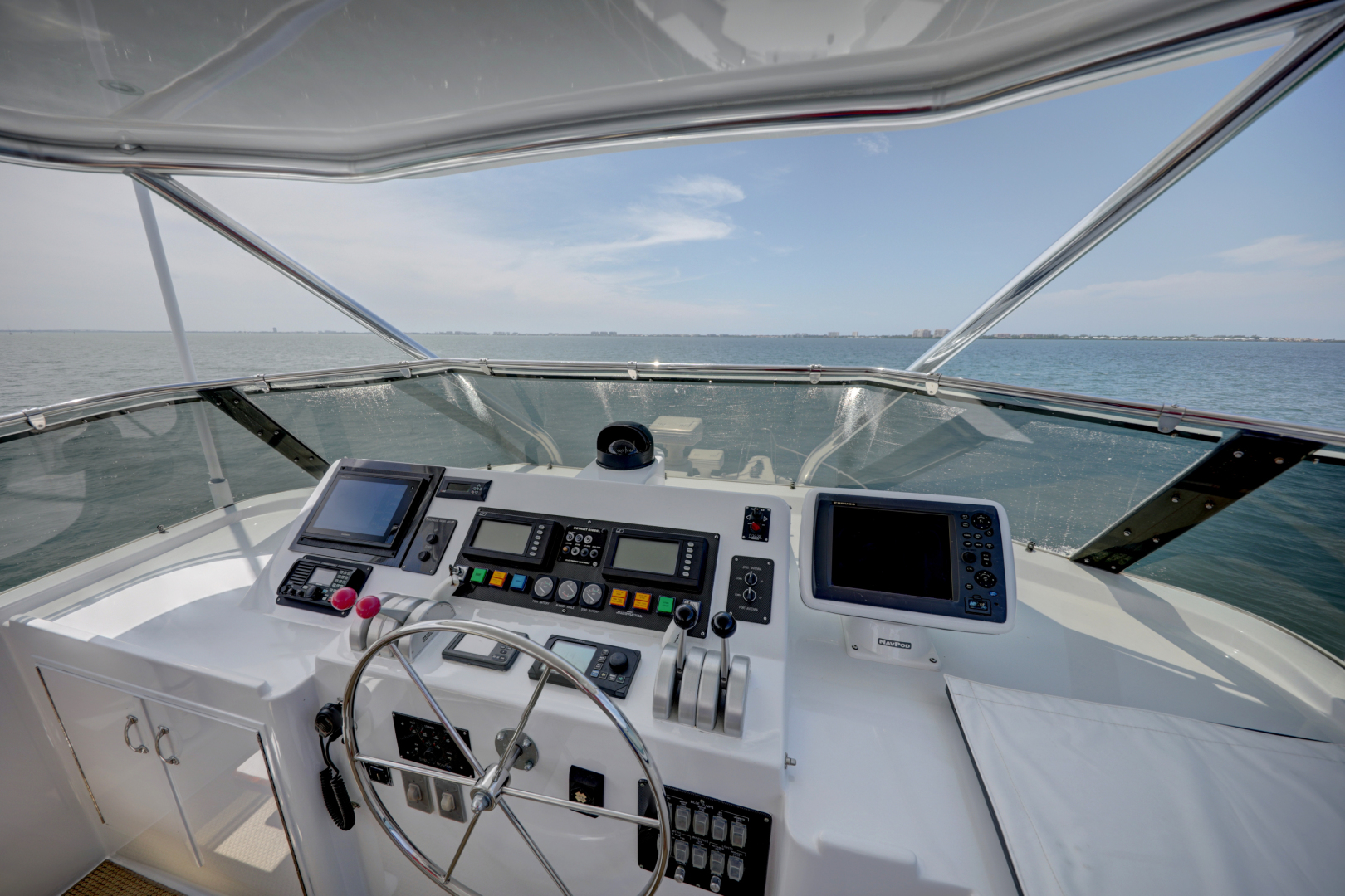 Hatteras-74 Sport Deck Motor  Yacht 1999-TRIX SEA Longboat Key-Florida-United States-1469587 | Thumbnail