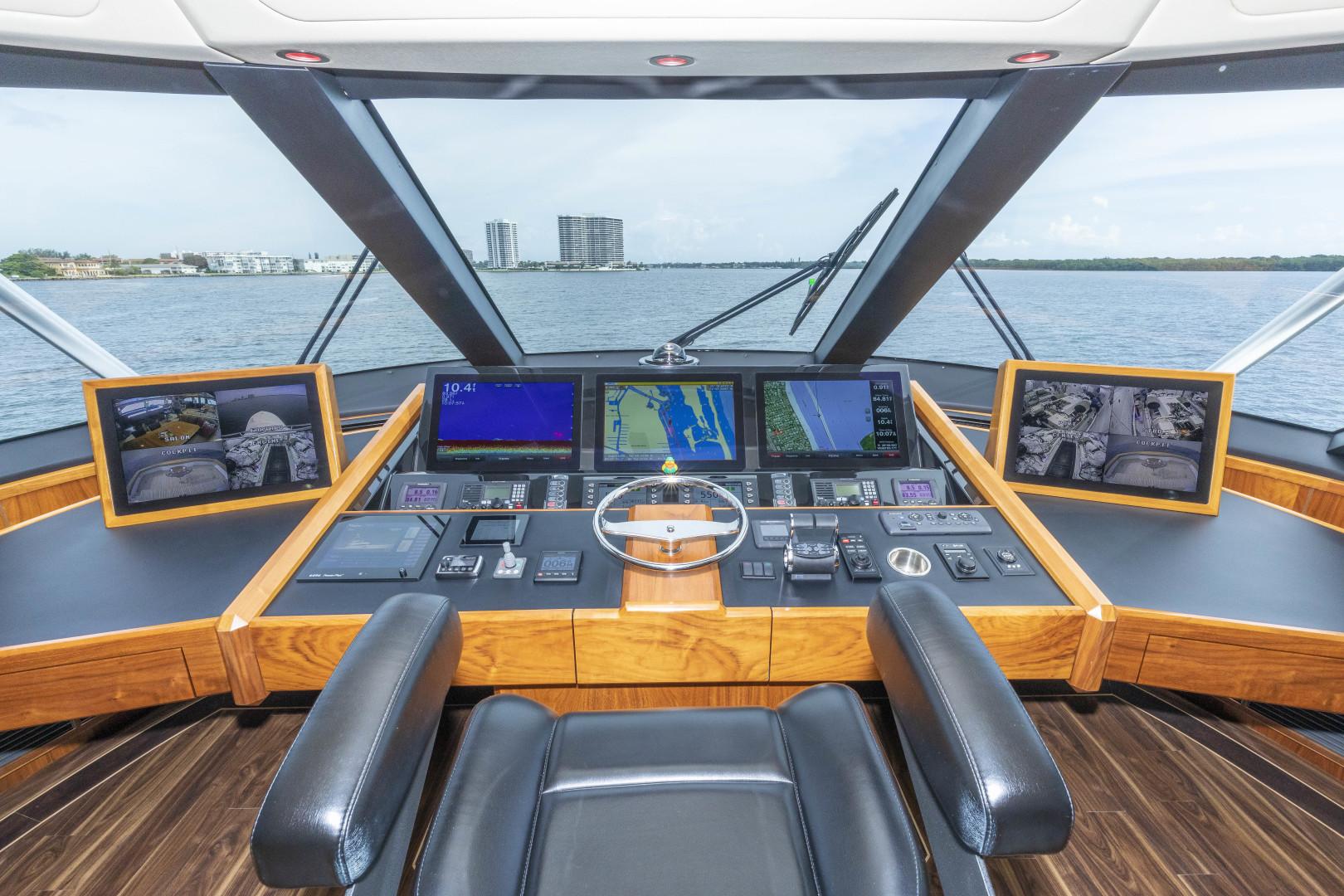 Viking-Enclosed Bridge Sportfish 2016-Bella Dona Di Boca Raton-Florida-United States-1487969 | Thumbnail