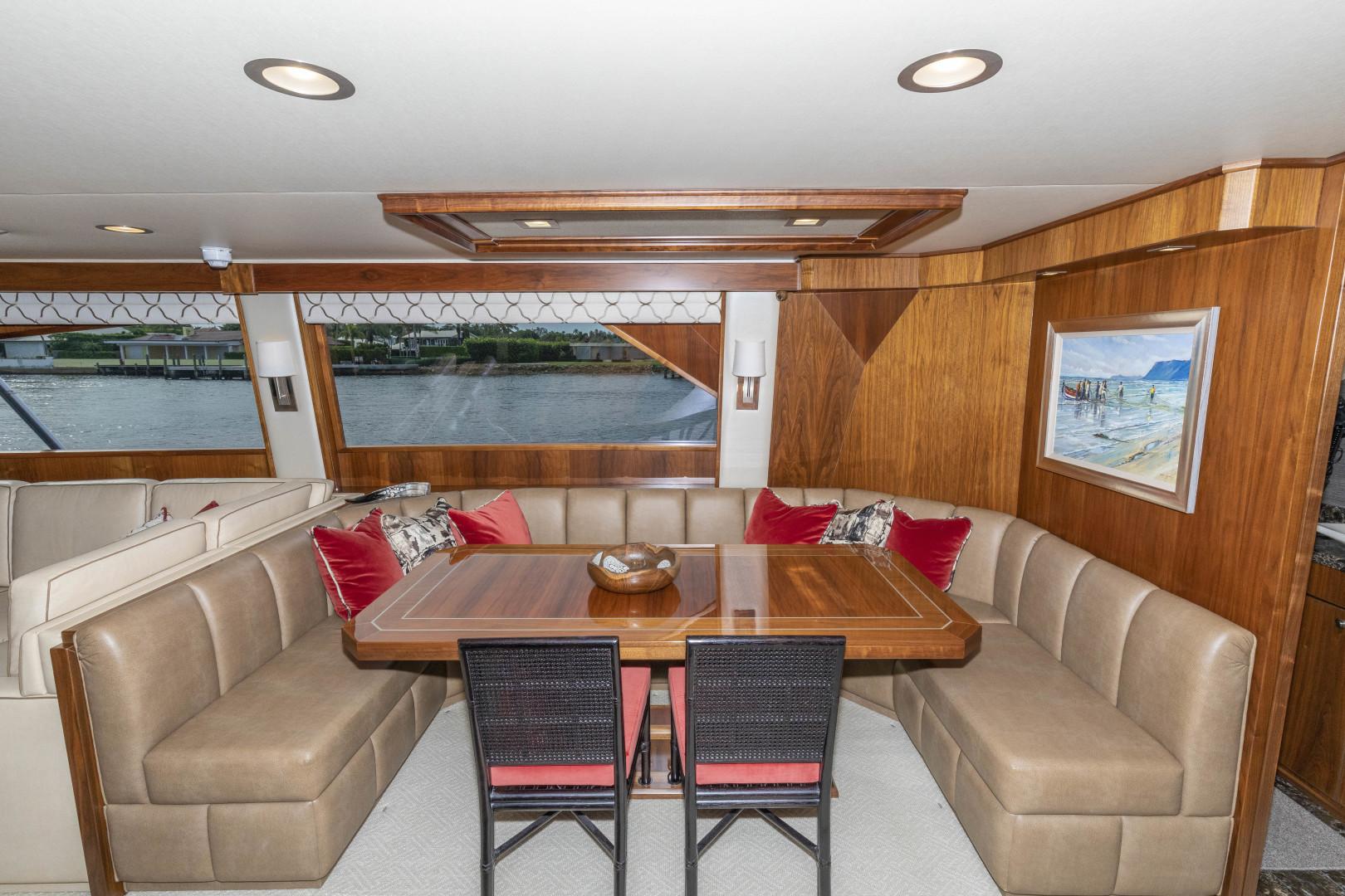 Viking-Enclosed Bridge Sportfish 2016-Bella Dona Di Boca Raton-Florida-United States-Dining-1487995 | Thumbnail