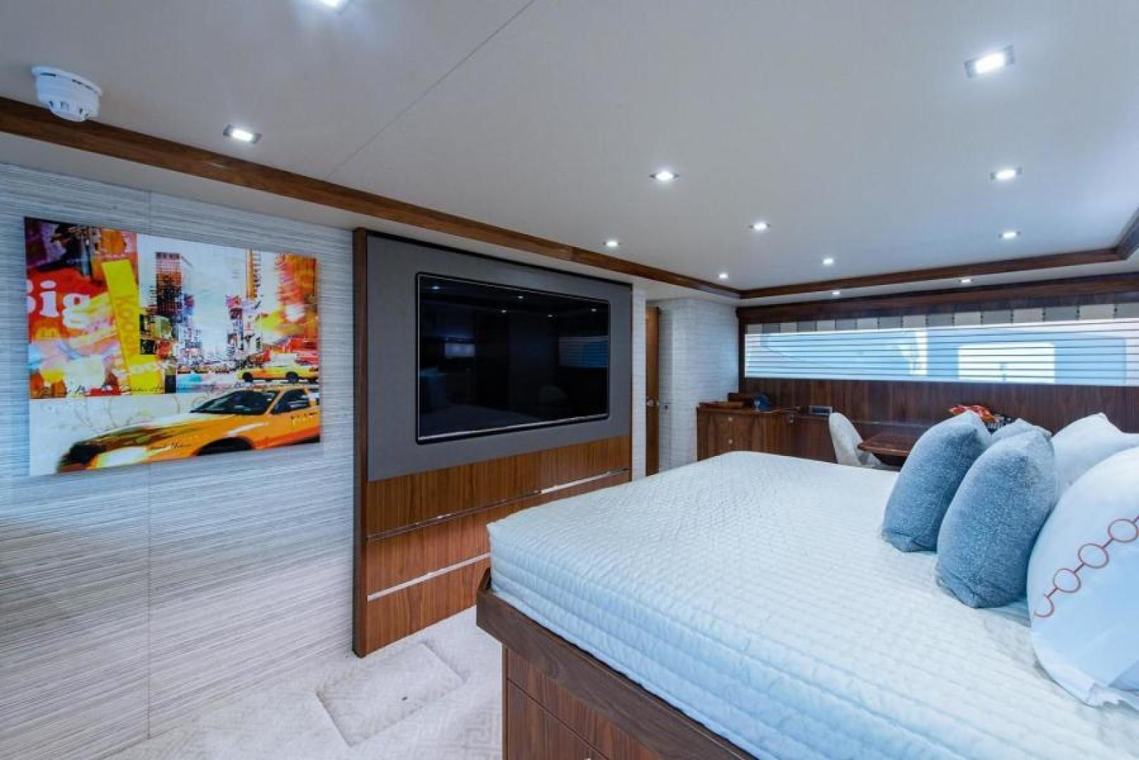 Viking-Motoryacht Enclosed Flybridge 2018-BOOK ENDS Fort Lauderdale-Florida-United States-Master Stateroom-1470587 | Thumbnail