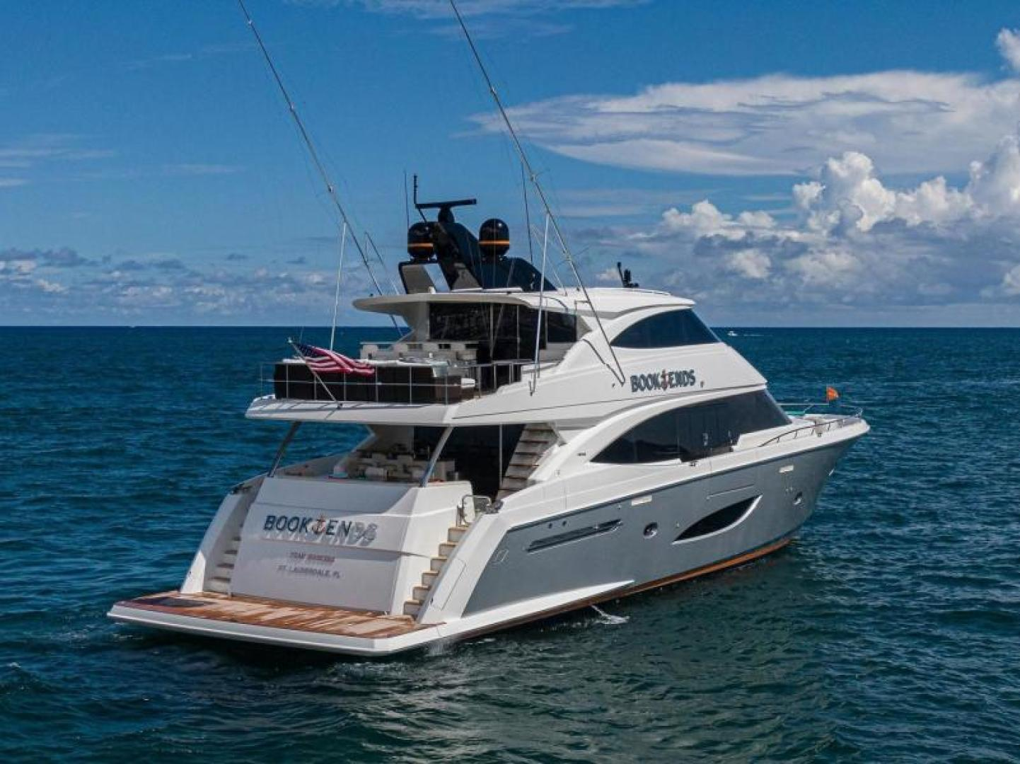 Viking-Motoryacht Enclosed Flybridge 2018-BOOK ENDS Fort Lauderdale-Florida-United States-BOOK ENDS-1470670 | Thumbnail