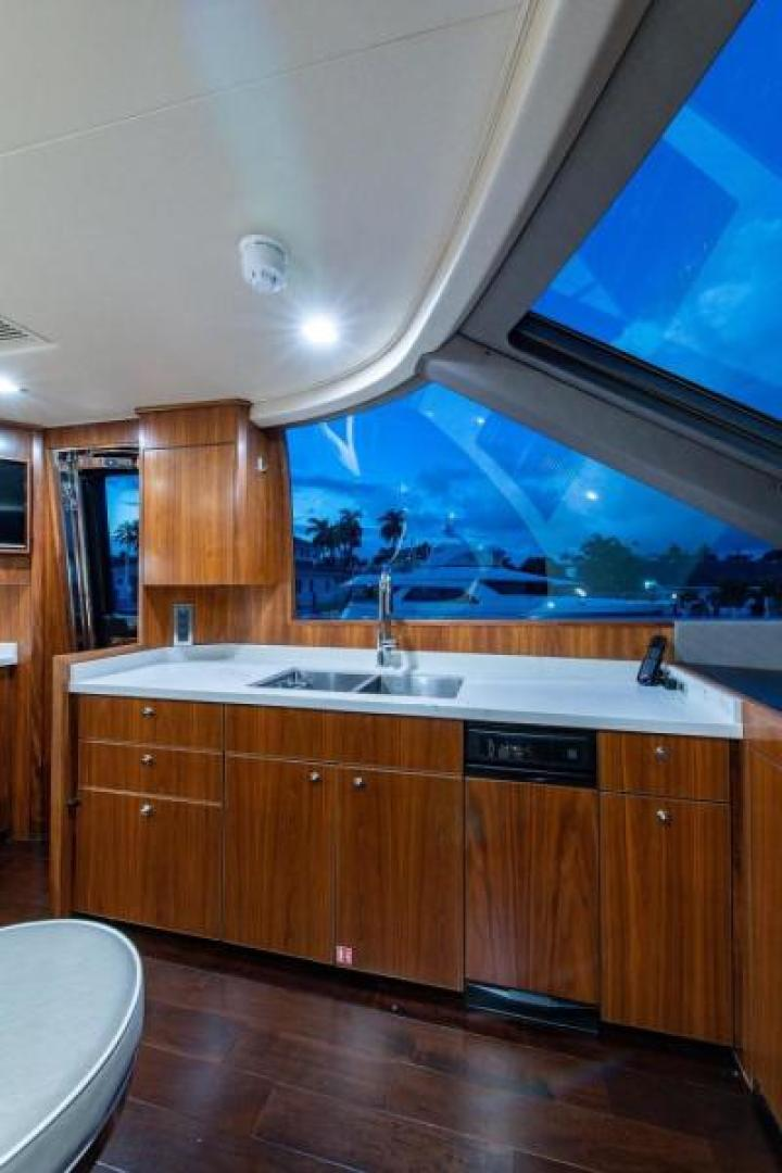 Viking-Motoryacht Enclosed Flybridge 2018-BOOK ENDS Fort Lauderdale-Florida-United States-Galley-1470581 | Thumbnail