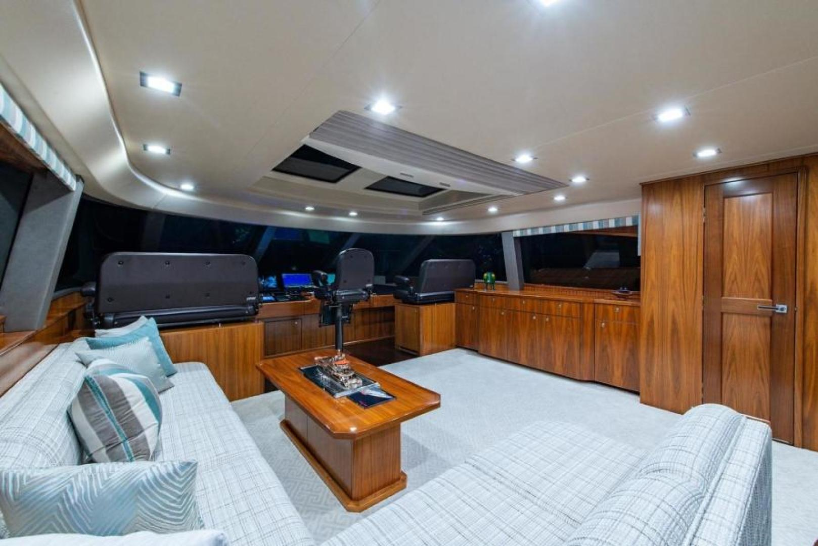 Viking-Motoryacht Enclosed Flybridge 2018-BOOK ENDS Fort Lauderdale-Florida-United States-Enclosed Flybridge-1470637 | Thumbnail