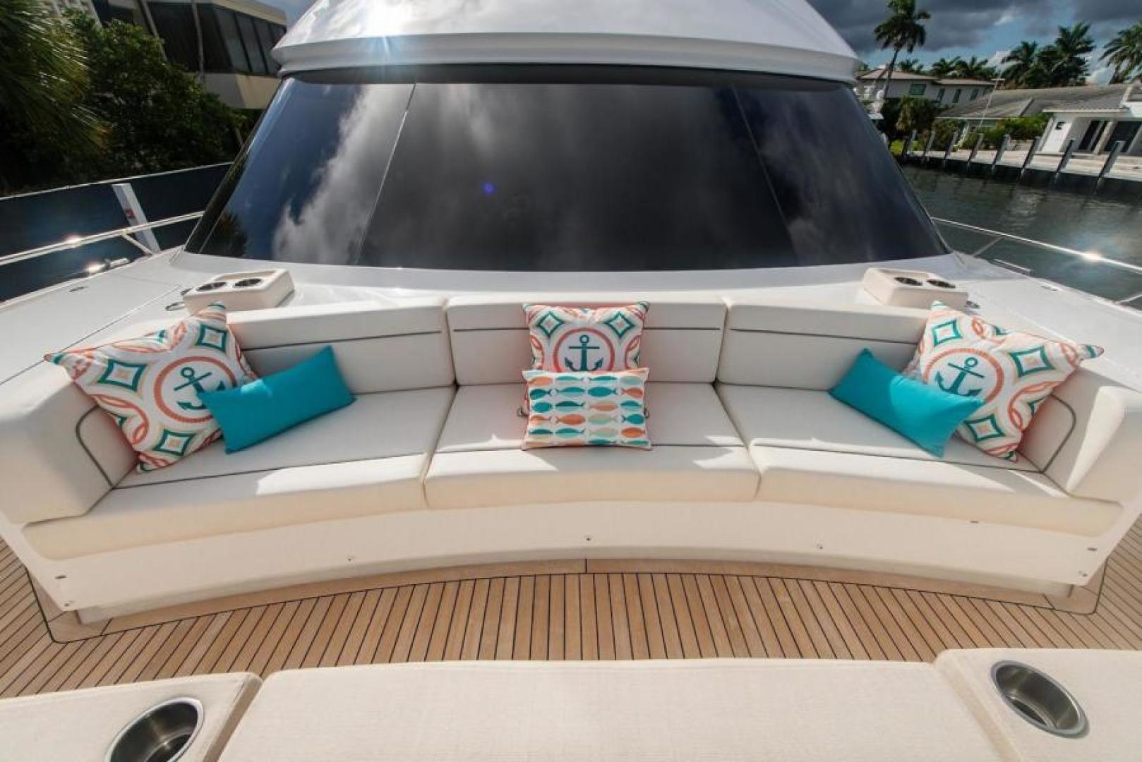 Viking-Motoryacht Enclosed Flybridge 2018-BOOK ENDS Fort Lauderdale-Florida-United States-Bow-1470657 | Thumbnail