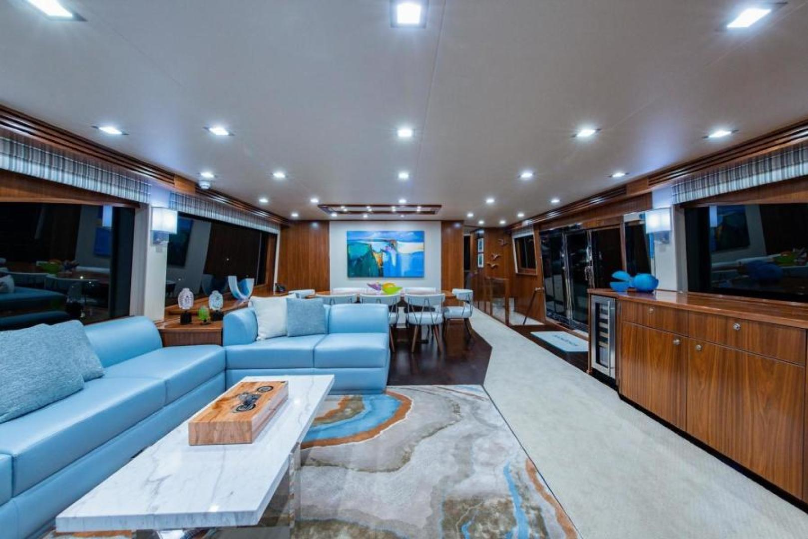 Viking-Motoryacht Enclosed Flybridge 2018-BOOK ENDS Fort Lauderdale-Florida-United States-Salon-1470569 | Thumbnail