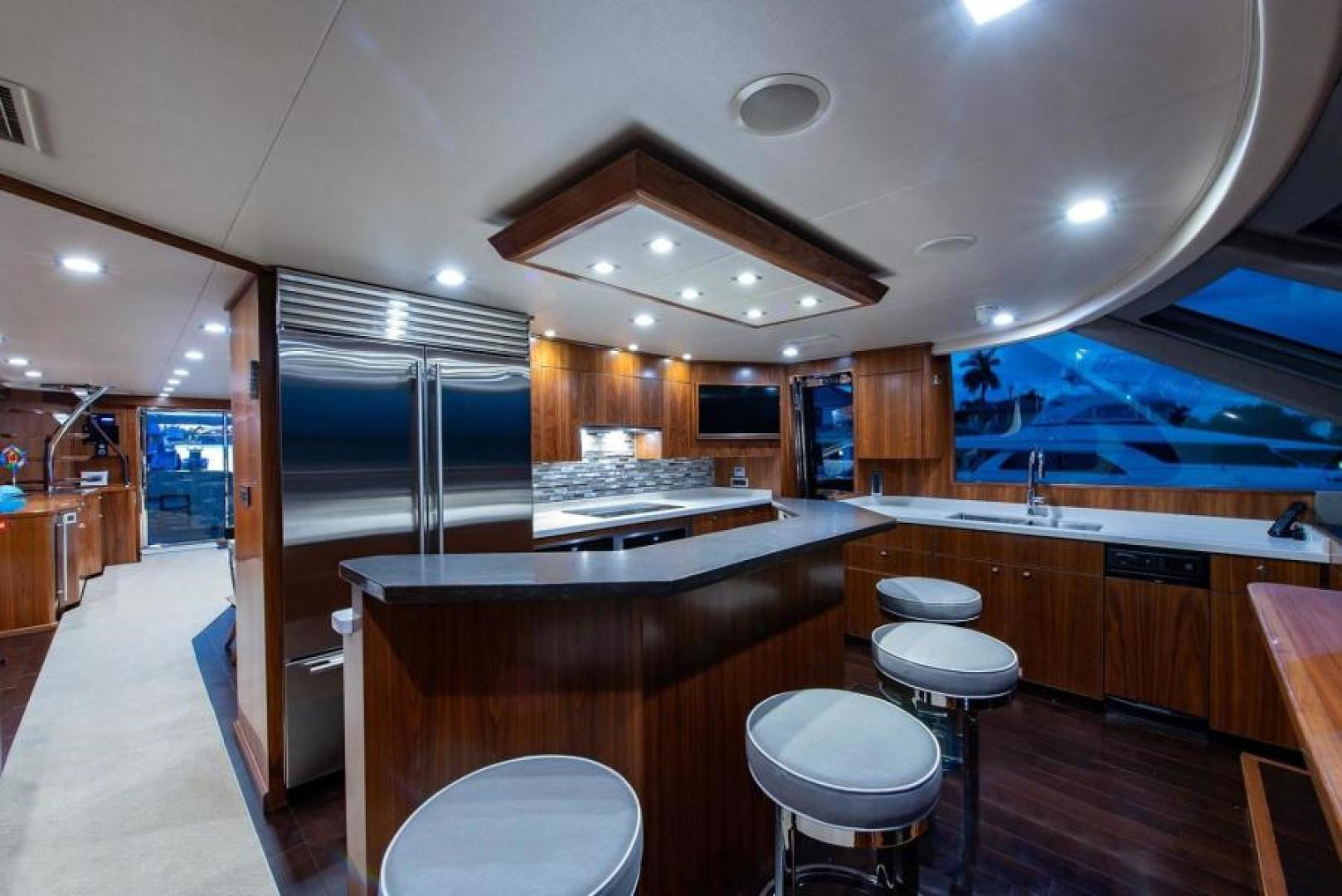 Viking-Motoryacht Enclosed Flybridge 2018-BOOK ENDS Fort Lauderdale-Florida-United States-Galley-1470580 | Thumbnail