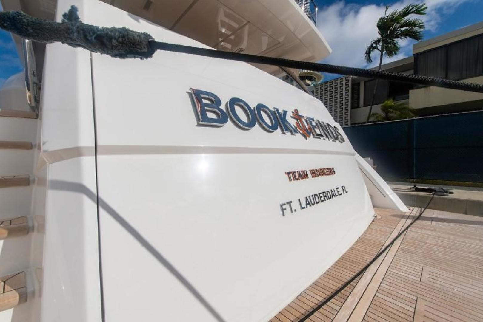 Viking-Motoryacht Enclosed Flybridge 2018-BOOK ENDS Fort Lauderdale-Florida-United States-Swim Platform-1470666 | Thumbnail