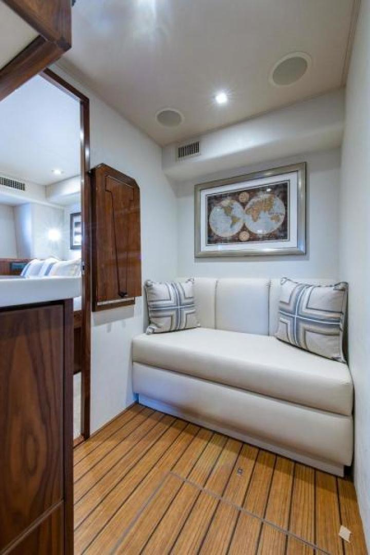Viking-Motoryacht Enclosed Flybridge 2018-BOOK ENDS Fort Lauderdale-Florida-United States-Crew Quarters-1470624 | Thumbnail