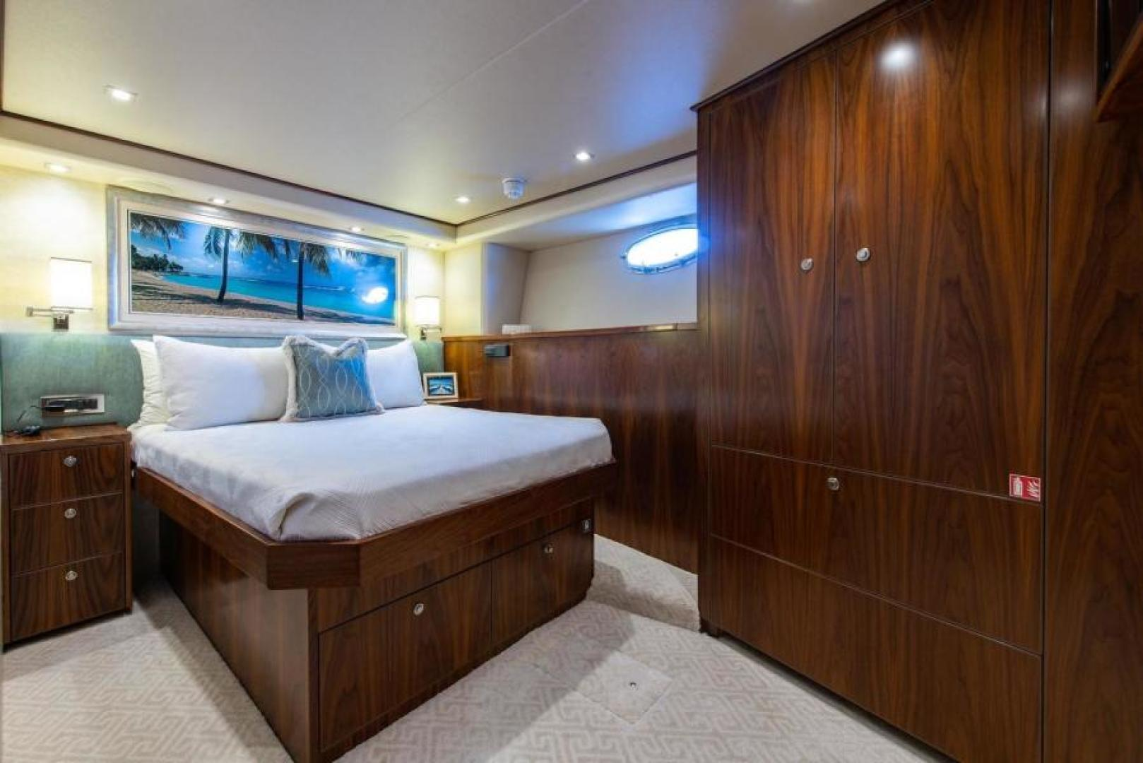 Viking-Motoryacht Enclosed Flybridge 2018-BOOK ENDS Fort Lauderdale-Florida-United States-Port VIP Stateroom-1470606 | Thumbnail