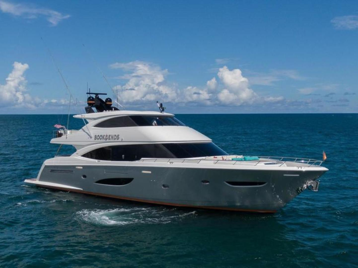 Viking-Motoryacht Enclosed Flybridge 2018-BOOK ENDS Fort Lauderdale-Florida-United States-BOOK ENDS-1470668 | Thumbnail