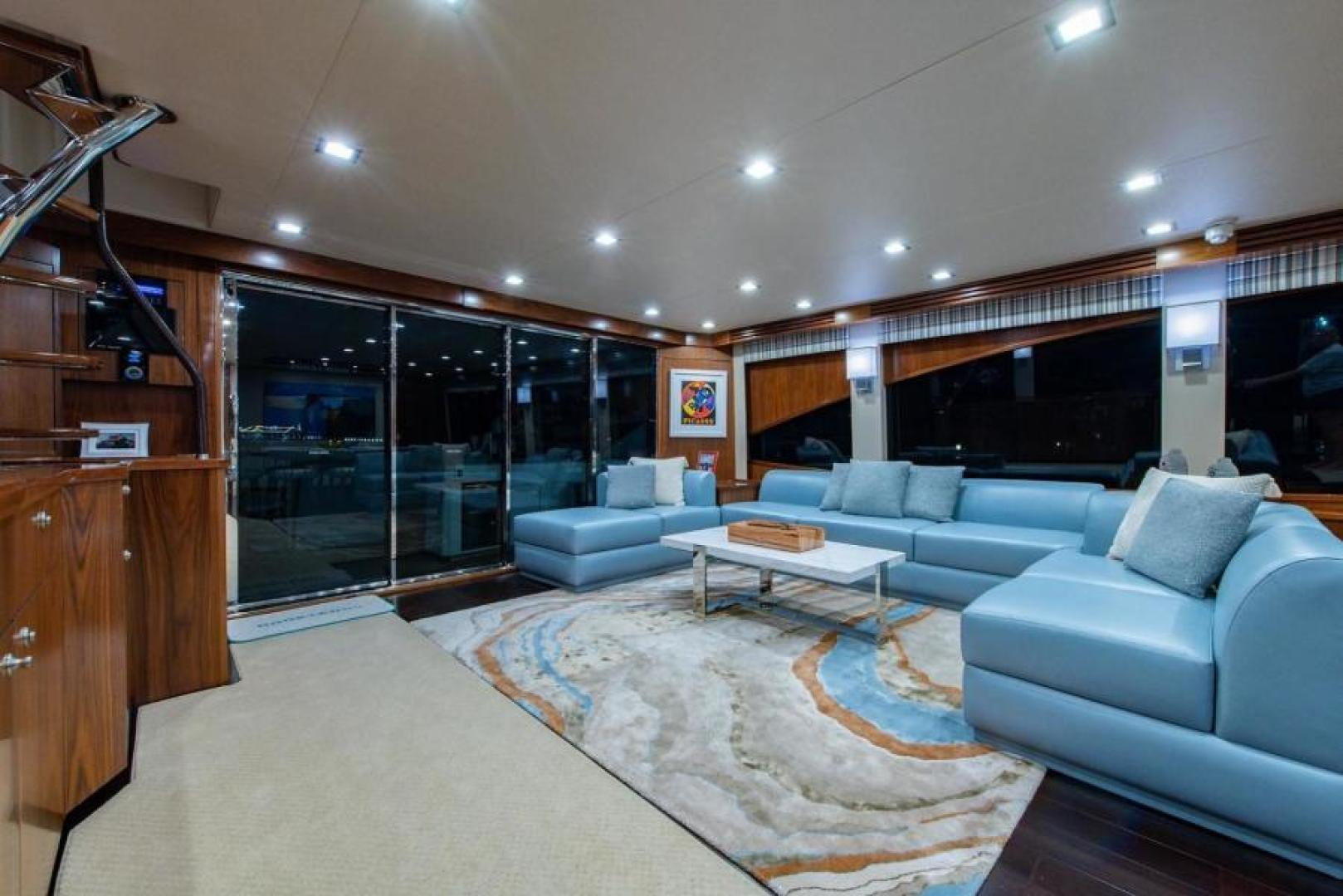 Viking-Motoryacht Enclosed Flybridge 2018-BOOK ENDS Fort Lauderdale-Florida-United States-Salon-1470571 | Thumbnail
