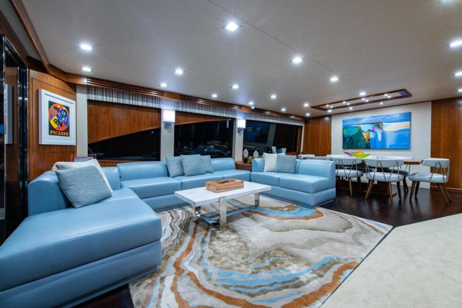 Viking-Motoryacht Enclosed Flybridge 2018-BOOK ENDS Fort Lauderdale-Florida-United States-Salon-1470570 | Thumbnail