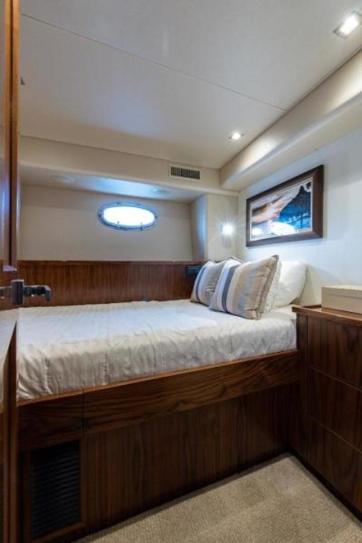 Viking-Motoryacht Enclosed Flybridge 2018-BOOK ENDS Fort Lauderdale-Florida-United States-Captains Quarters-1470621 | Thumbnail