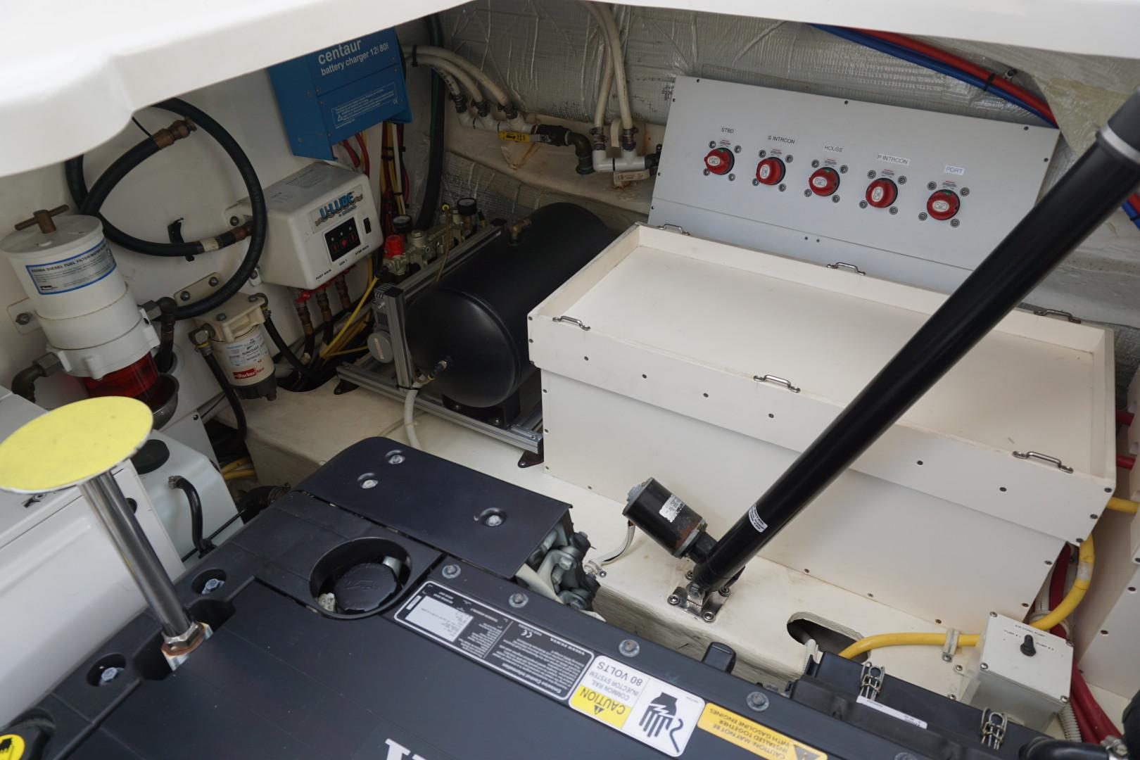 Tiara Yachts-45 Sovran 2015-Captains Choice Pensacola-Florida-United States-2015 45 Tiara Sovran Captains Choice ENGINE ROOM (2)-1484317   Thumbnail