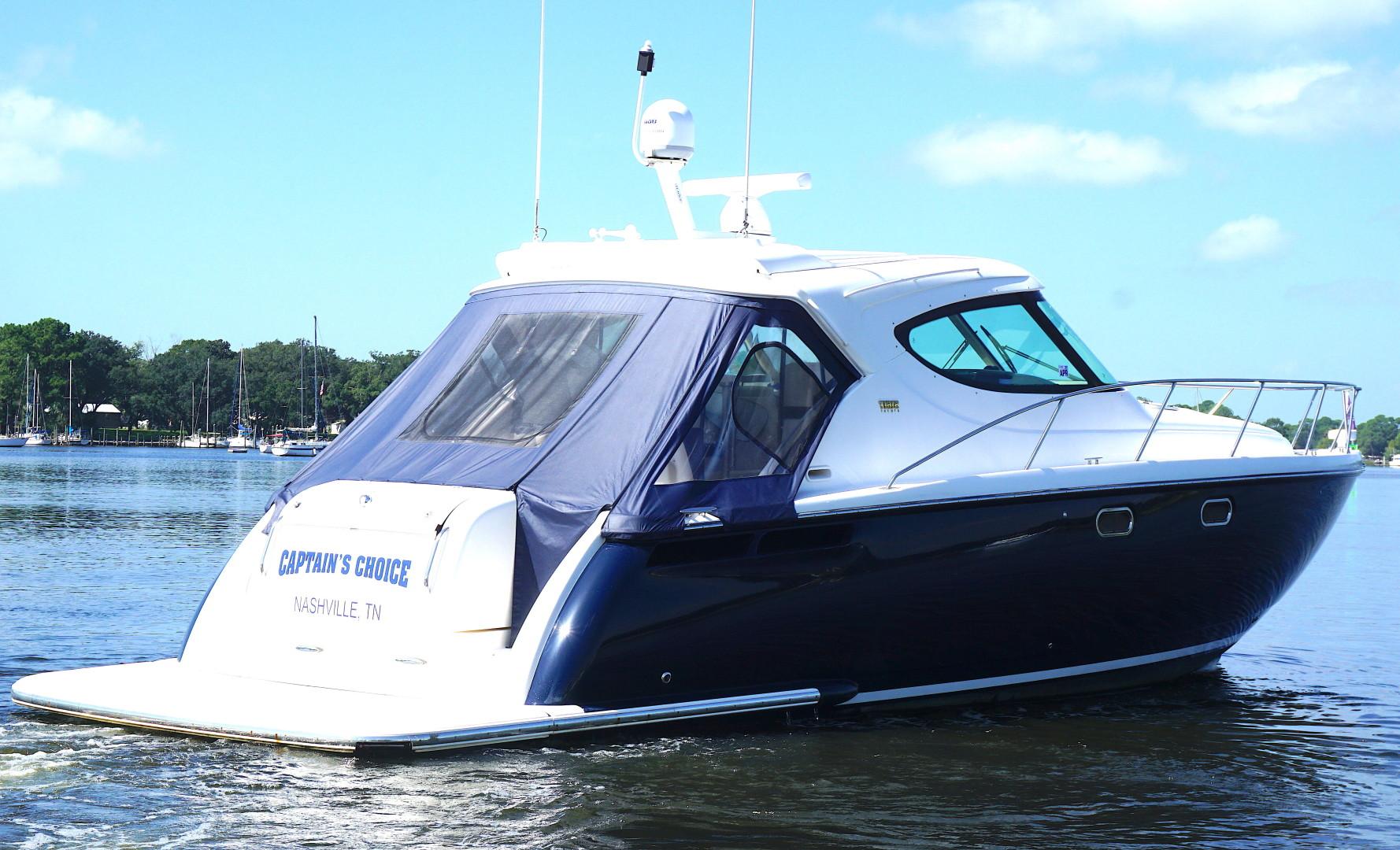 Tiara Yachts-45 Sovran 2015-Captains Choice Pensacola-Florida-United States-2015 45 Tiara Sovran Captains Choice STBD STERN 45 DEG.-1484338   Thumbnail