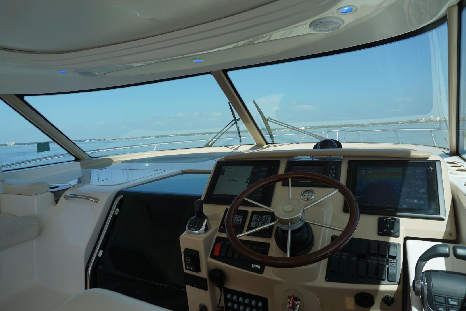 Tiara Yachts-45 Sovran 2015-Captains Choice Pensacola-Florida-United States-2015 45 Tiara Sovran Captains Choice VIEW FROM THE HELM (1)-1484311   Thumbnail