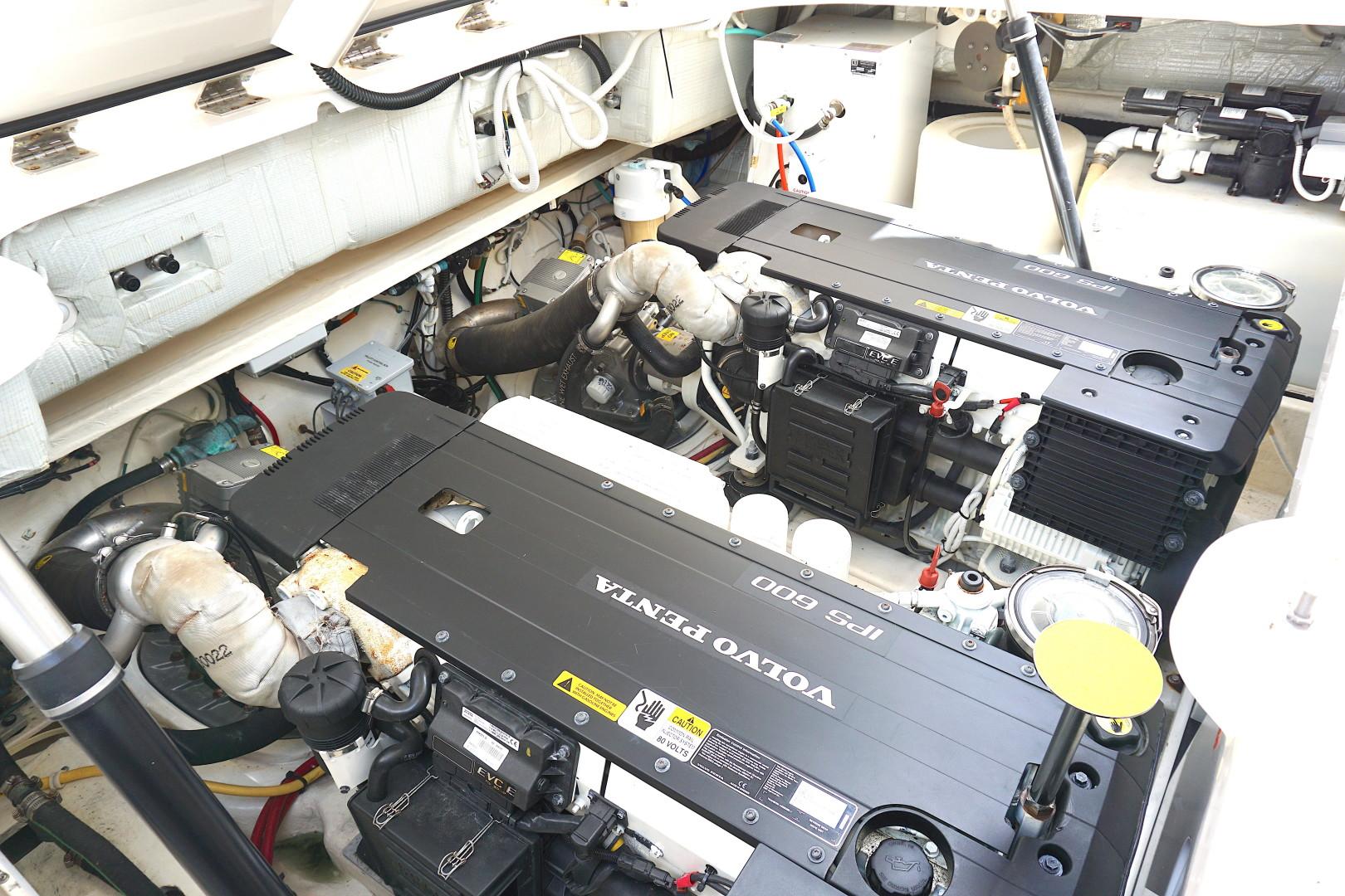 Tiara Yachts-45 Sovran 2015-Captains Choice Pensacola-Florida-United States-2015 45 Tiara Sovran Captains Choice ENGINE ROOM (1)-1484316   Thumbnail