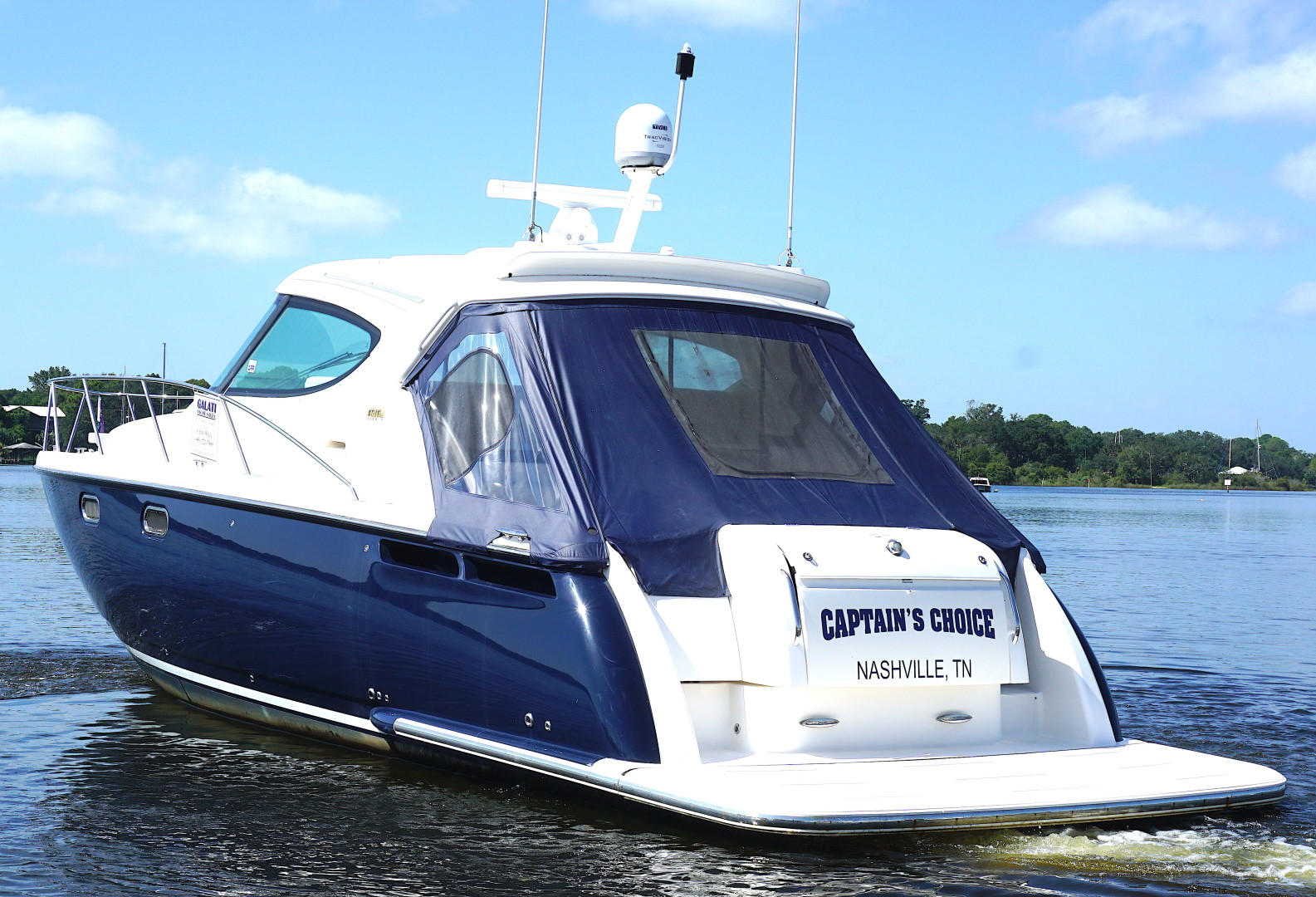 Tiara Yachts-45 Sovran 2015-Captains Choice Pensacola-Florida-United States-2015 45 Tiara Sovran Captains Choice PORT STERN 45 DEG.-1484336   Thumbnail
