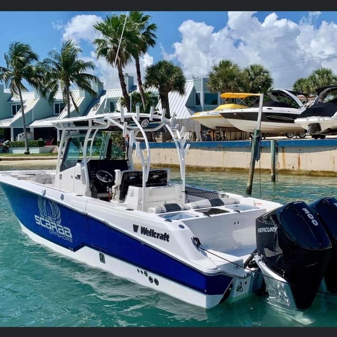 Wellcraft-Scarab 2019-Life of Riley Jupiter-Florida-United States-1470847 | Thumbnail