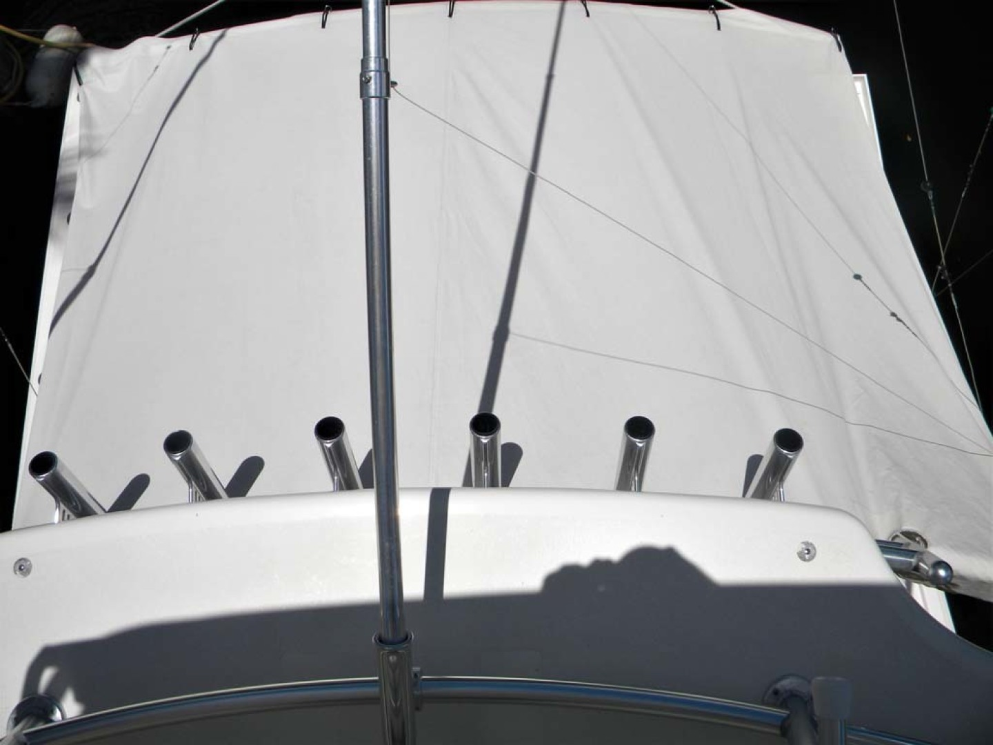 Cabo-Express Sportfish 2004-OMO Boynton Beach-Florida-United States Tower to Transom Cockpit Cover-1471054 | Thumbnail