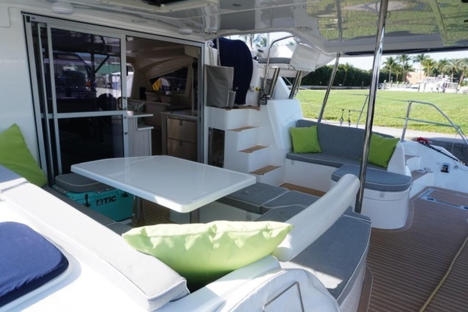 Leopard-44 2016-Grateful Fort Lauderdale-Florida-United States-Aft Deck Cabin Entry, Steps To Helm-1471288 | Thumbnail
