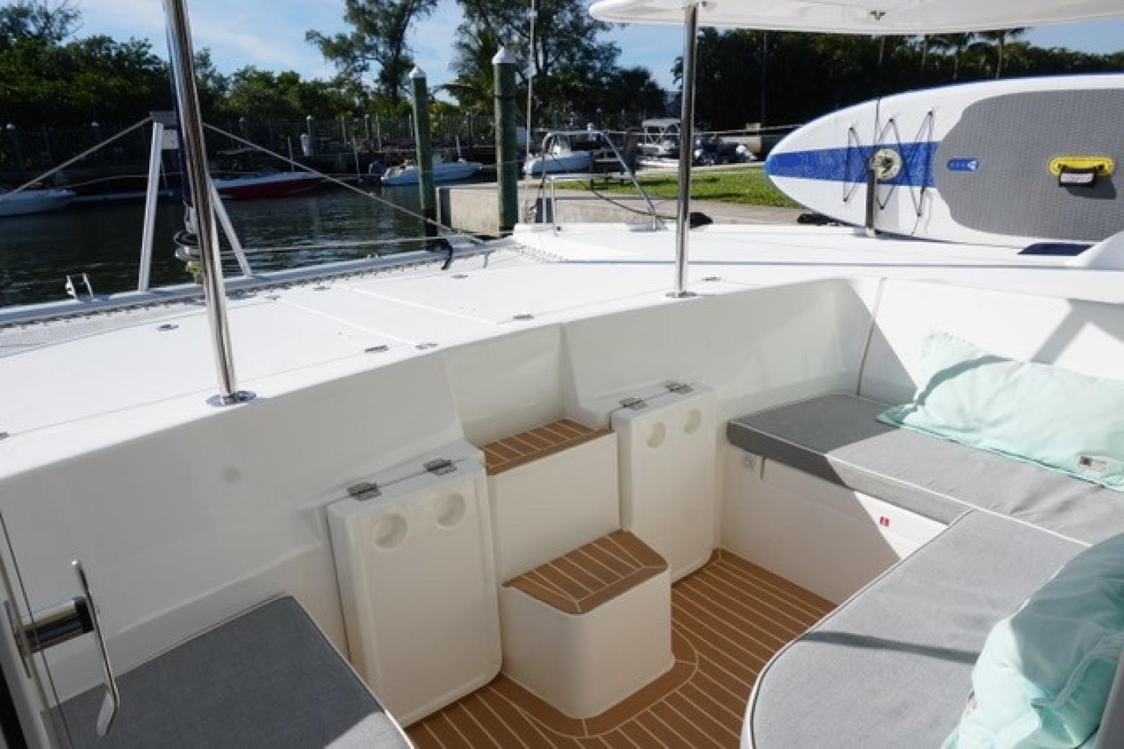 Leopard-44 2016-Grateful Fort Lauderdale-Florida-United States-Forward Cockpit Seating-1471283 | Thumbnail