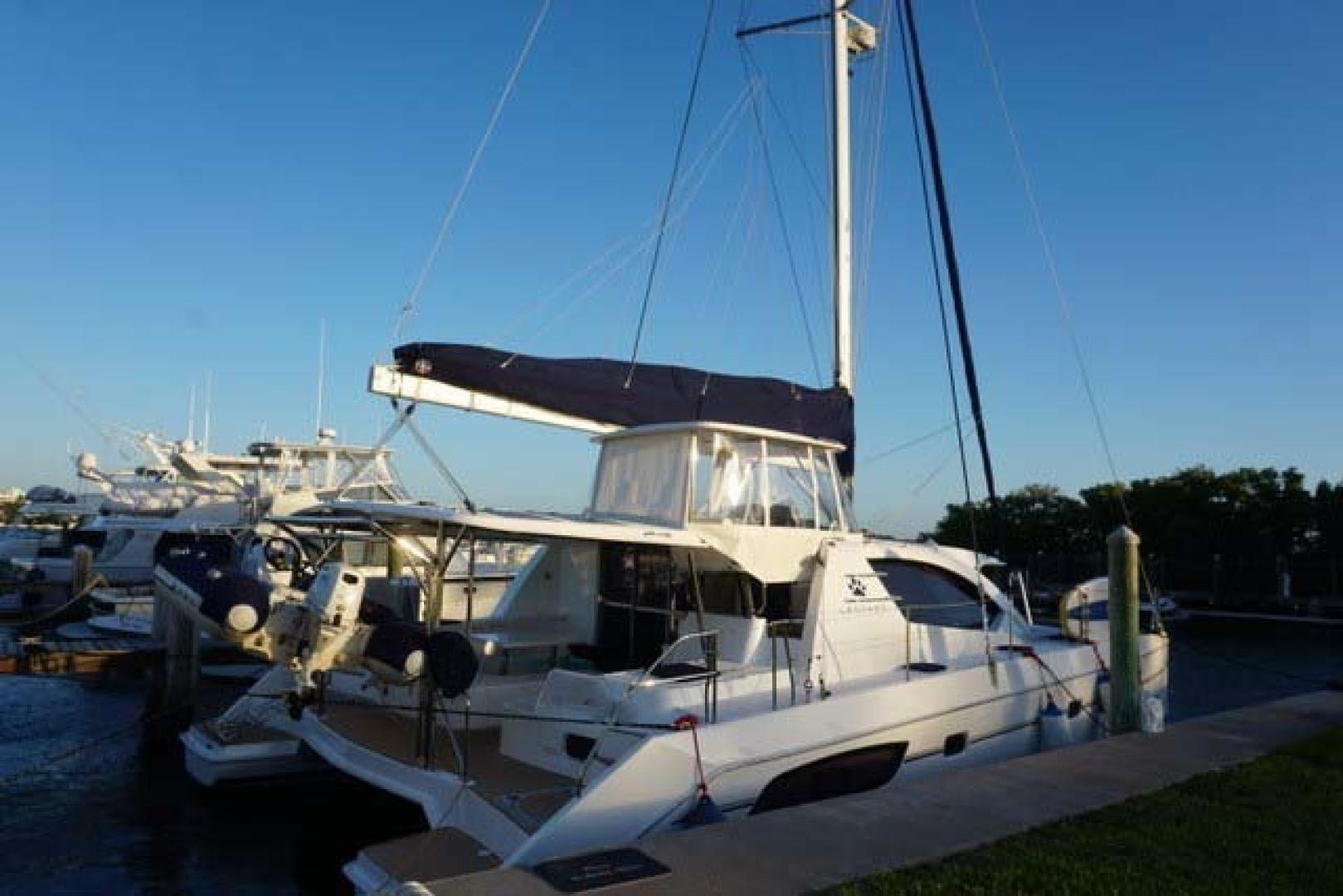 Leopard-44 2016-Grateful Fort Lauderdale-Florida-United States-Starboard Aft Profile-1471255 | Thumbnail