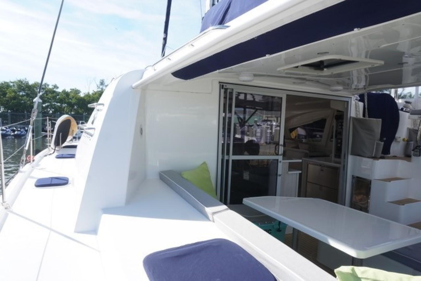 Leopard-44 2016-Grateful Fort Lauderdale-Florida-United States-Port Side Deck, Cabin Entry-1471284 | Thumbnail