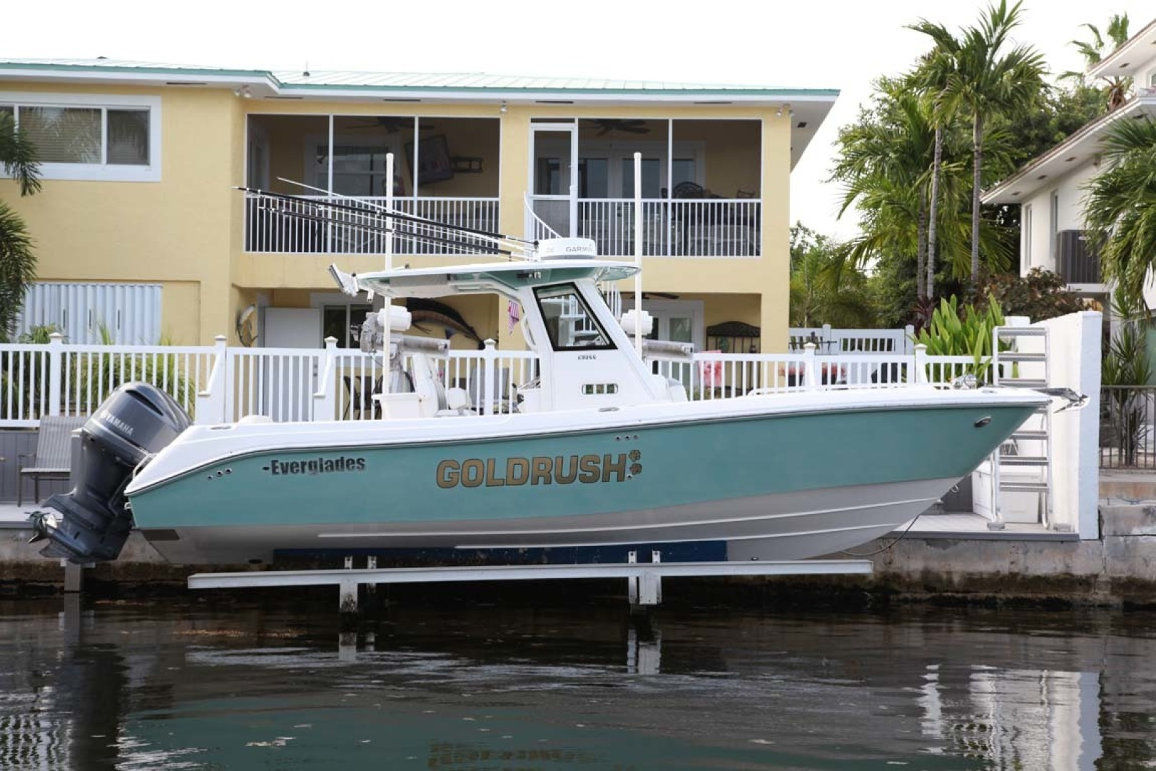 Everglades-295 2012 -Tavernier-Florida-United States-Main Profile  Stbd on Lift-1472626 | Thumbnail