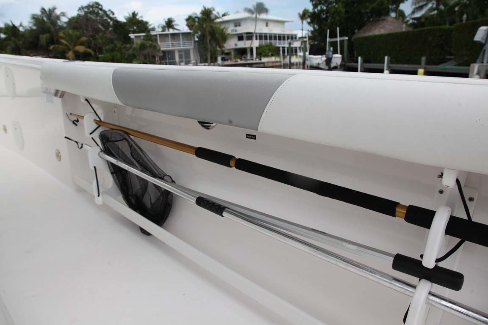 Everglades-295 2012 -Tavernier-Florida-United States-Gunnel Rod Storage-1472691 | Thumbnail