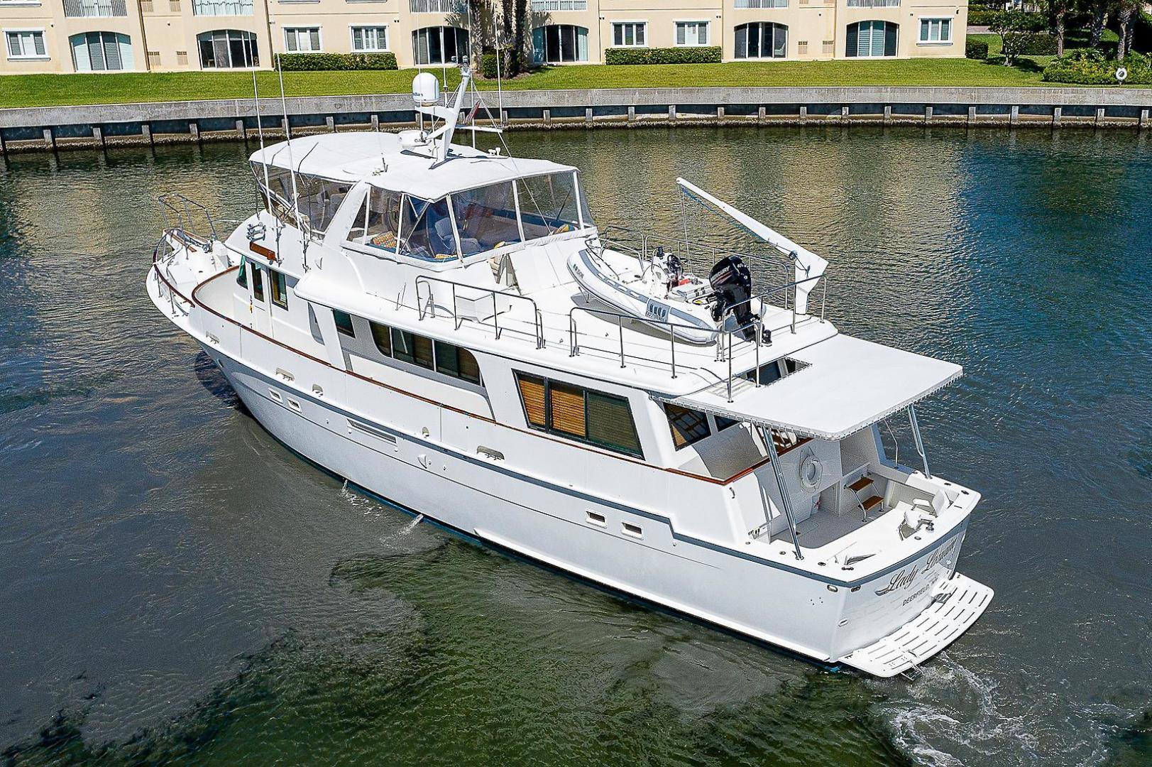 Hatteras-Long Range Cruiser 1986-Lady Lorraine Fort Pierce-Florida-United States-1474834   Thumbnail