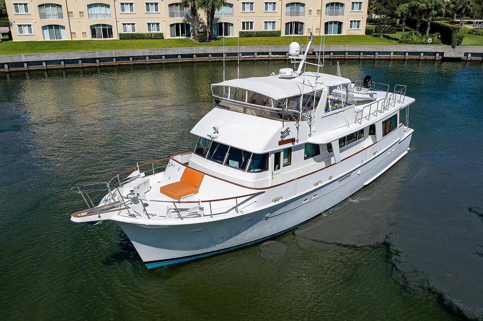 Hatteras-Long Range Cruiser 1986-Lady Lorraine Fort Pierce-Florida-United States-1474832   Thumbnail