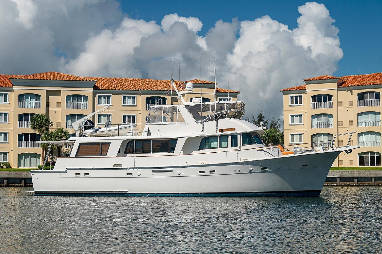 Hatteras-Long Range Cruiser 1986-Lady Lorraine Fort Pierce-Florida-United States-1474958   Thumbnail