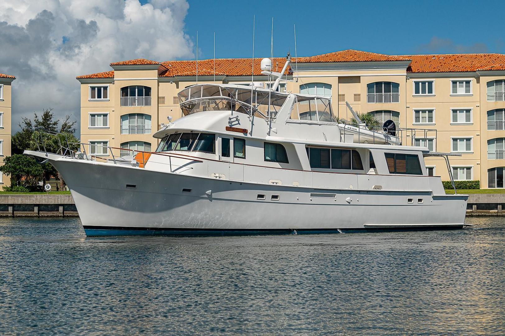 Hatteras-Long Range Cruiser 1986-Lady Lorraine Fort Pierce-Florida-United States-1474962   Thumbnail