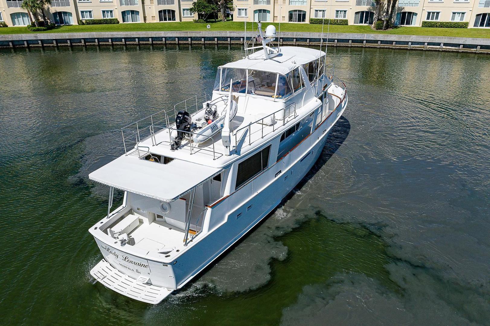 Hatteras-Long Range Cruiser 1986-Lady Lorraine Fort Pierce-Florida-United States-1474836   Thumbnail