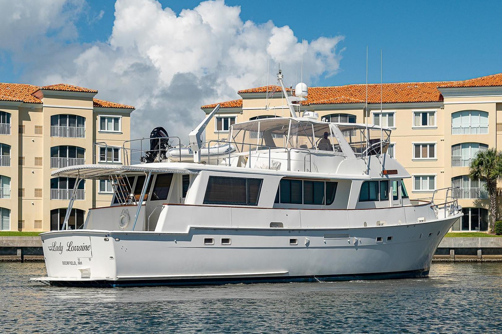 Hatteras-Long Range Cruiser 1986-Lady Lorraine Fort Pierce-Florida-United States-1474965   Thumbnail