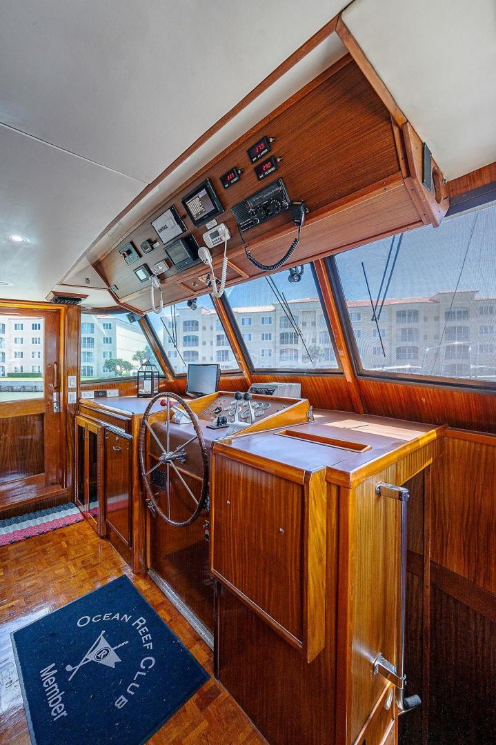 Hatteras-Long Range Cruiser 1986-Lady Lorraine Fort Pierce-Florida-United States-1474864   Thumbnail