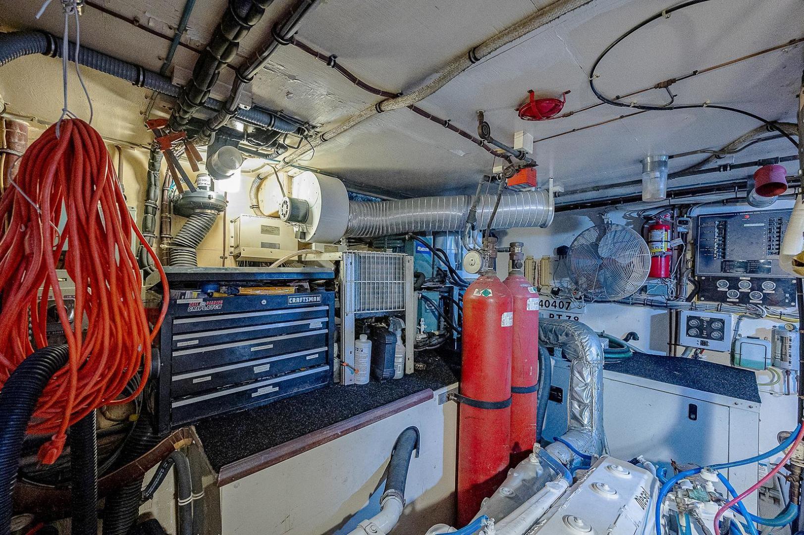 Hatteras-Long Range Cruiser 1986-Lady Lorraine Fort Pierce-Florida-United States-1474971   Thumbnail